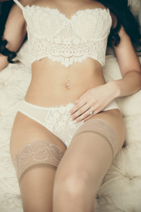 Dream Boudoir Toronto Studio — Romantic bridal boudoir Photography Female Photographer
