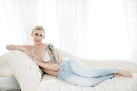 Toronto Boudoir Photography Casual Jeans Lifestyle Boudoir Photography