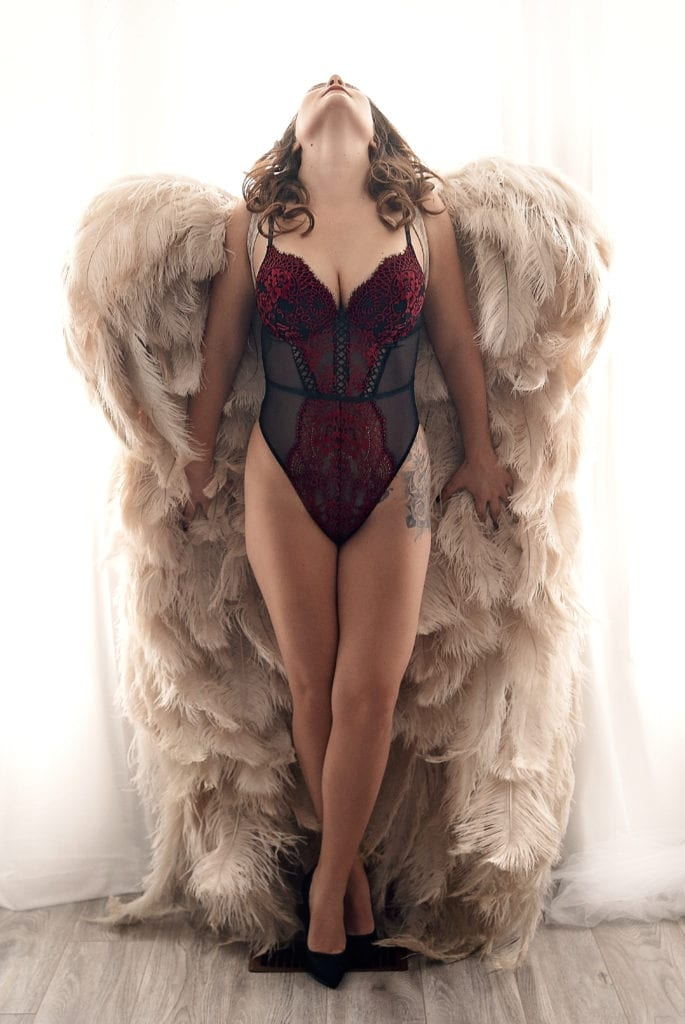 toronto boudoir vancouver photography angel wings beautiful victoria's secret pinup